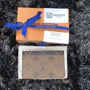 Louis Vuitton Reverse Monogram Card
